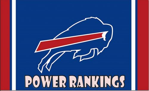 Buffalo Bills Power Rankings – Week Two