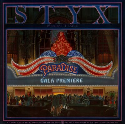 Favorite 100 Albums of the 80s: (#66) Styxx – Paradise Theater