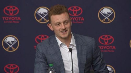 Thoughts On Jack Eichel Being Named To All-Star Team