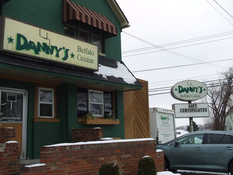 Chicken Wing Review/QB Comparison: Danny's South In Orchard Park