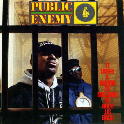 Favorite 100 Albums of the 80s: (#50) Public Enemy – It Takes A Nation Of Millions To Hold Us Back