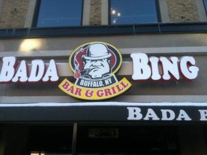 Chicken Wing Review: Bada Bing
